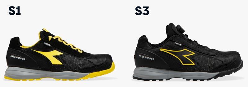 scarpe da lavoro s1 s3